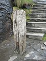 Ancient timber mooring post at Boscastle harbour - geograph.org.uk - 1237120.jpg