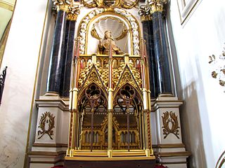 retable de Sainte Richarde