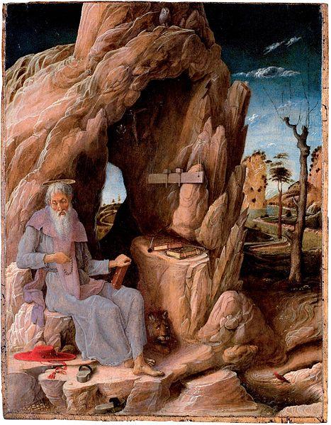 Ficheiro:Andrea Mantegna Hieronymus.jpg