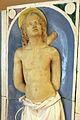 Andrea della robbia, madonna col bambino tra i ss. sebastiano e antonio abate (collez. rita d'annunzio lombardi) 02,2.JPG