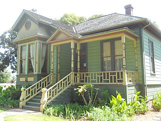 Andrew P. Hill - Hill's house, now at History Park in San Jose