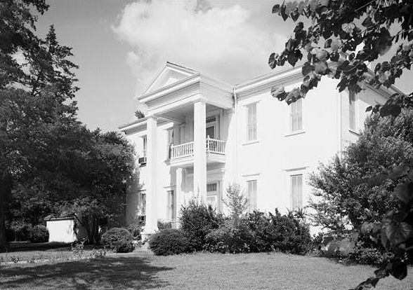 Andrews-Taylor House in Karnack, Texas