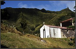 Anglican Church of St Peter's, Sandy Bay, St Helena Island, 1985. Peter Neaum. - panoramio.jpg