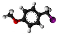 Anisyl iodide3D.png