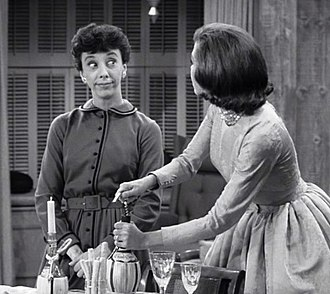 The Dick Van Dyke Show - Ann Morgan Guilbert alongside Mary Tyler Moore