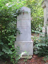 Anna Gottlieb grave, Vienna, 2016.jpg