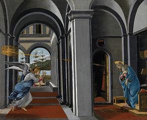L'Annonciation de la chiesa fiorentina di San Barnaba