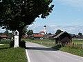 Antdorf - Penzberger Str - Bildstock, Antdorf v O.JPG