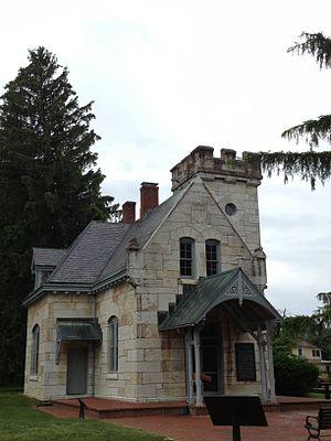 Paul J. Pelz - Image: Antietam Cemetery Gatehouse