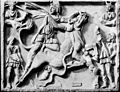 Antique sculpture of Mithras sacrificing the bull. Wellcome M0006363.jpg