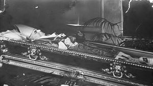 Antonín Cyril Stojan - Stojan lying in state