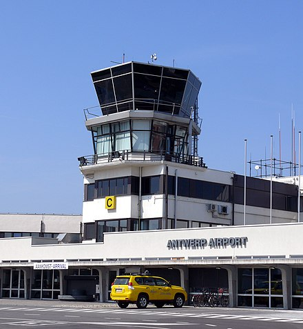 Antwerp International Airport Antwerp International Airport- Deurne Tower.JPG