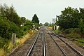 Approaching Northway Level Crossing - geograph.org.uk - 1702510.jpg