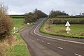 Approaching a lay-by, A38 east - geograph.org.uk - 1626207.jpg