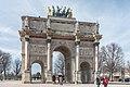 Arc de Triomphe du Carrousel, Paris 5 February 2019.jpg