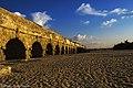 Arches Beach in Caesarea israel from Nati חוף הקשתות בקיסריה מאת נתי.jpg