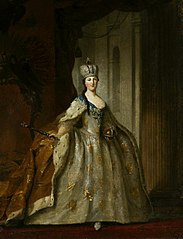 Portrait of Catherine the Great.