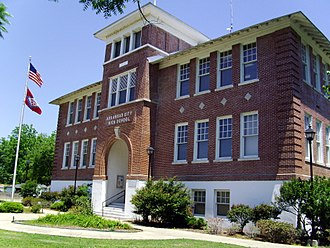 National Register of Historic Places listings in Desha County, Arkansas - Image: Arkansas City High School 003