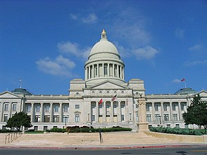 Arkansas General Assembly - Image: Arkansas State Capitol, Little Rock