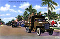 Army Air Forces - Postcard - Miami Beach Training Center - AAF Truck Convoy.jpg