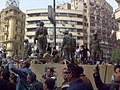 Army Truck and Soldiers in Tahrir Square, Cairo.jpg
