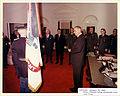 Army flag presented to LBJ (2).jpg