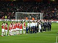 Arsenal - Partizan CL beginning.jpg