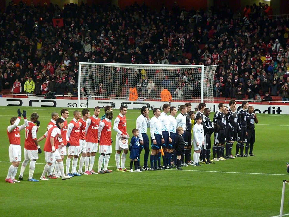 Arsenal - Partizan CL beginning