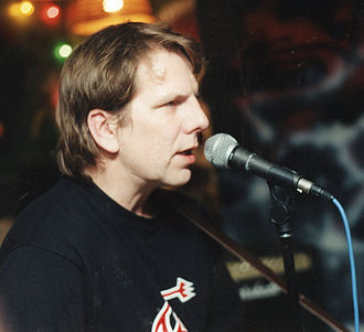 Art Bergmann - Art Bergmann performing at the 10 Day Cafe in Stratford, Ontario in 1996.