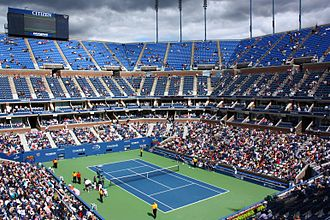 US Open (tennis) - Arthur Ashe stadium in 2010