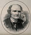 Arthur Cayley. Wood engraving by R. Taylor. Wellcome V0001041.jpg