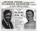 Arthur Pryor and Clarence Reynolds, 1917.jpg