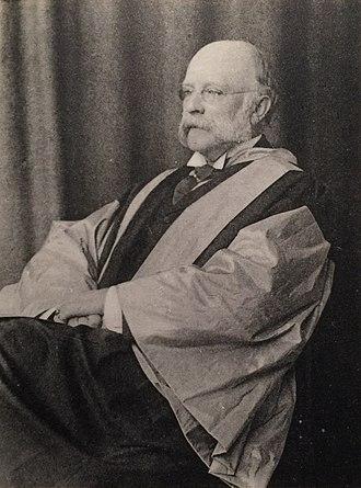 Arthur Rucker - Sir Arthur Rucker as honorary doctor in Oxford, 1902