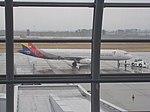 Asiana Airlines Airbus A321-231;Aircraft (HL7722)@ Japan Sendai Airport 2015-03-01.JPG