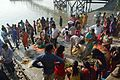 Assembled Devotees - Chhath Puja Ceremony - Ramkrishnapur Ghat - Howrah 2013-11-09 4087.JPG