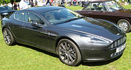 Aston Martin Rapide 2010or2011 at Woburn.JPG