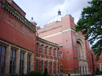 University of Birmingham - Friezes on the Aston Webb building