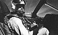 Astronaut L. Gordon Cooper Jr. in a Convair TF-102 aircraft.jpg