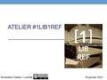 Atelier1Lib1Ref Support.pdf