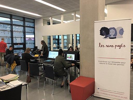 Atelier Archi Wiki Femmes du 2 février 2019 aux Archives départementales de l'Hérault 04