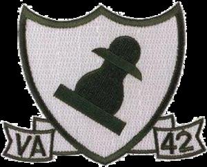 VA-42 (U.S. Navy) - VA-42 Insignia