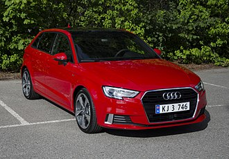Audi A3 - Image: Audi A3 Sport Back 2017 (front)