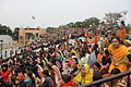 Audience at the Wagah Border crossing ceremony (6289591101).jpg