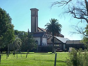 Aguas Corrientes - The old water purification plant.