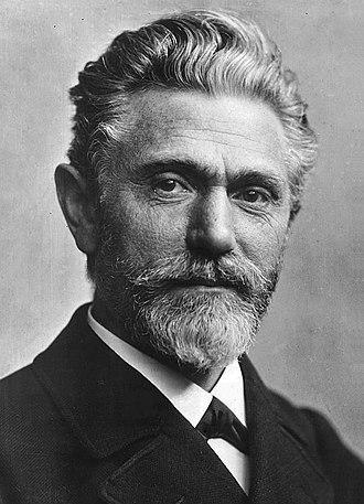 August Bebel - Bebel c. 1900