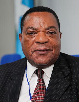 Minister of Foreign Affairs (Tanzania) - Image: Augustine Mahiga (cropped)