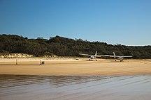 Fraser Island-Tourism-Australia, Queensland, Fraser Island, planes