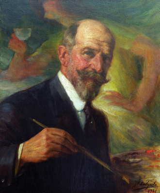 Veloso Salgado - Self-portrait (1931), by Veloso Salgado National Academy of Fine Arts, Lisbon