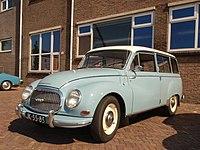 Auto Union AU 1000 (1968), Dutch licence registration JK-55-85 pic2.JPG