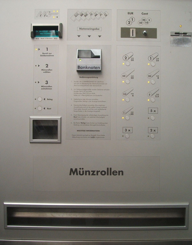 Geldwechselautomat Wikipedia